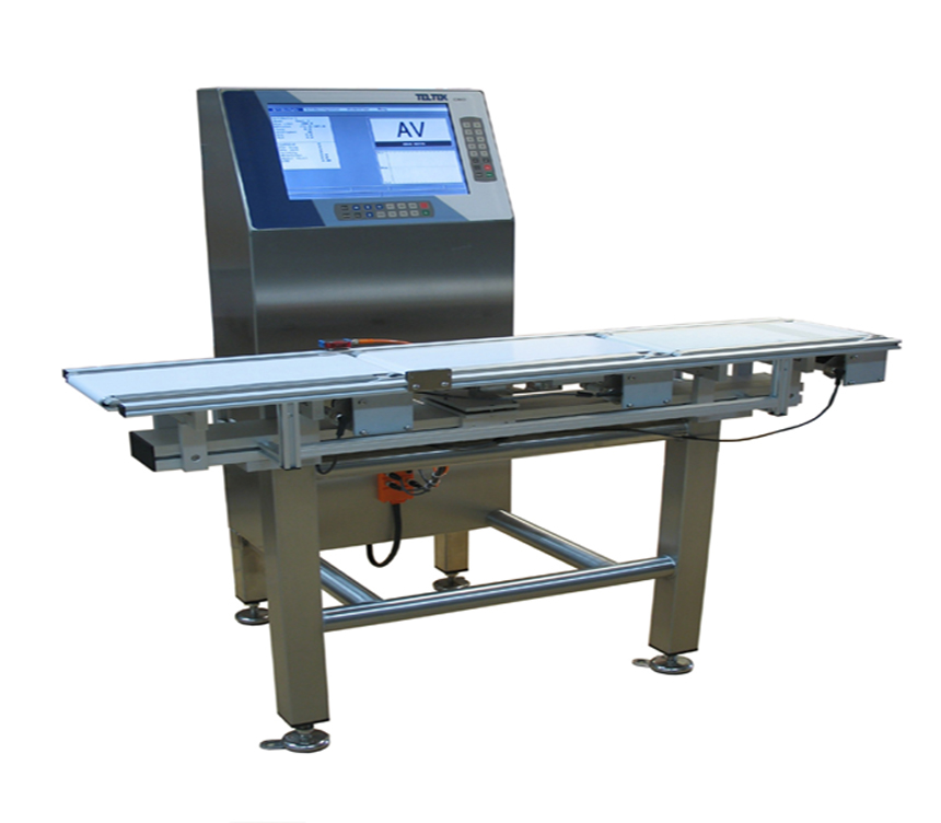 Checkweigher for medium speeds