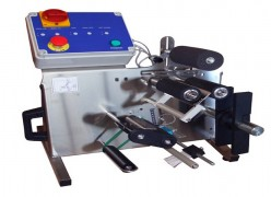 Stainless steel semi automatic labeller